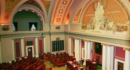Image of interior of Minnesota State Capitol